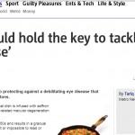 Macular Degeneration (AMD) & Cataract Saffron Eye Supplement Treatment