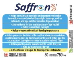 Saffron 2020 - Saffron Capsules