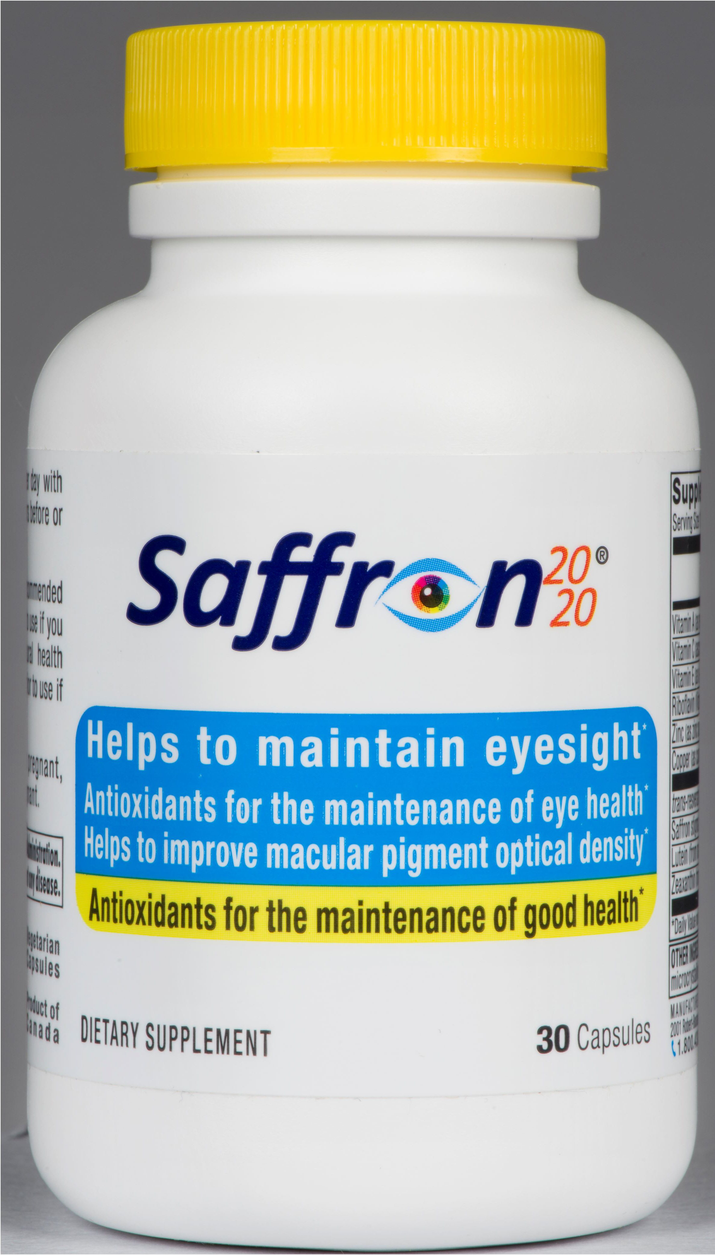 Saffron can protect sight recommend
